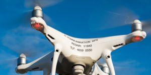 JJ Kommunikation tilbyder også dronevideoer
