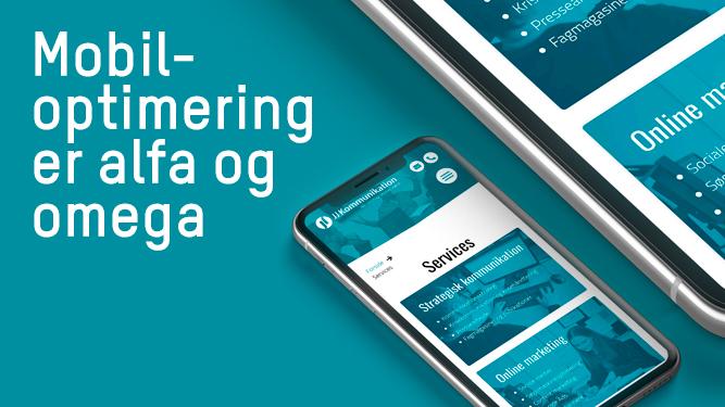 Mobiloptimering er alfa og omega i 2021 - JJ Kommunikation