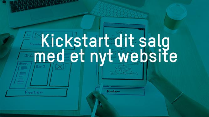 Kickstart dit salg med et nyt website - JJ Kommunikation